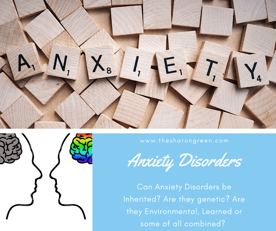Are anxiety disorders inherited? Can they be genetic, or do we develop anxiety? Read more to dig deeper! #AnxietyDisorders #Anxiety #Depression #irondeficientanemia #healthblog #diabetes #invisibleillnesses #heartdisease #chronicpain #IDA #anemia #fibromyalgia #mentalhealthblog #mentalhealthawareness #mentalhealth #lifestyleblogger #seo #newpost #blogging #amwriting #bloglovin #family #yolo