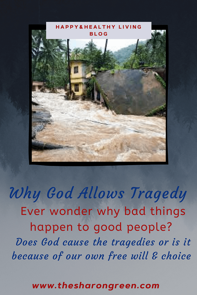 Why does God allow tragedy to happen? Why tragedy happens. Have you ever asked yourself this question?  how you would answer this question?  #tragedy #naturaldisasters #COVID19 #pandemic #Christianity #God #spiritualcalling  #mentalhealthblogger #lifestyleblogger #seo #newpost #blogging #amwriting #bloglovin #family #yolo
