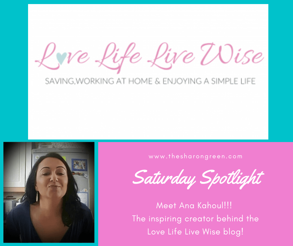 A weekly series to introduce other bloggers. Another great blogger showcased in my Saturday Spotlight Series! Ana Kahoul is the wonderful creator of Love Life Live Wise blog.    #SaturdaySpotlight #spotlightseries #bloggerspotlight #blogstofollow #blogsIfollow #followme #blogfollow #blogging #amwriting #bloglovin#mentalhealth #lifestyleblogger #seo #newpost #travelblogs #momblogs #healthblogs #family #yolo
